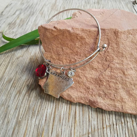 Arkansas Bangle Bracelet