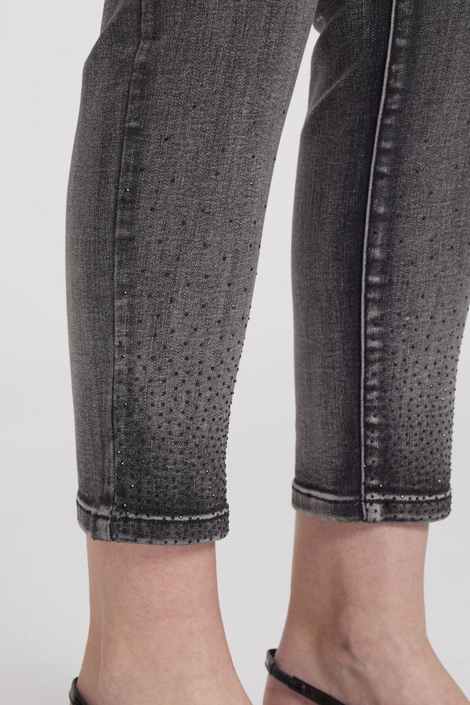 Tribal #6784O Denim Pant - Coal
