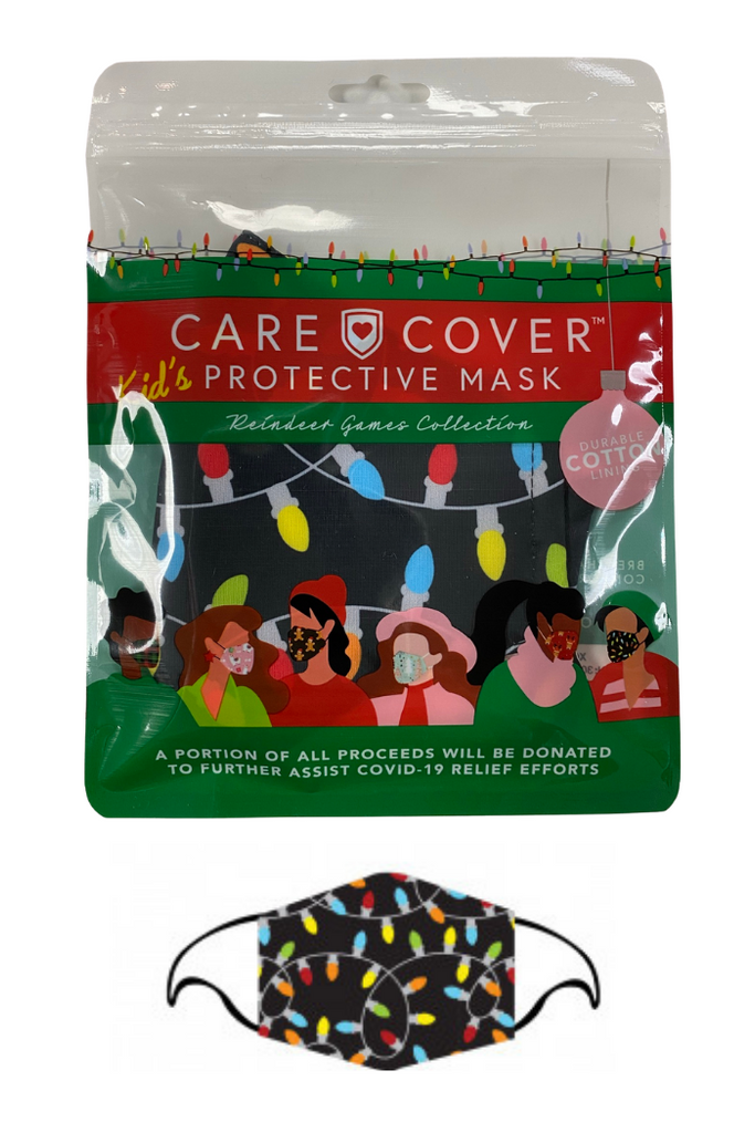 Care Cover Protective Holiday Mask - Kids