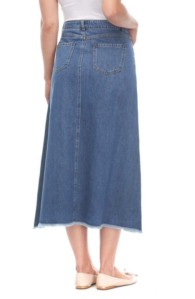 FDJ #6994178 Denim Maxi Skirt