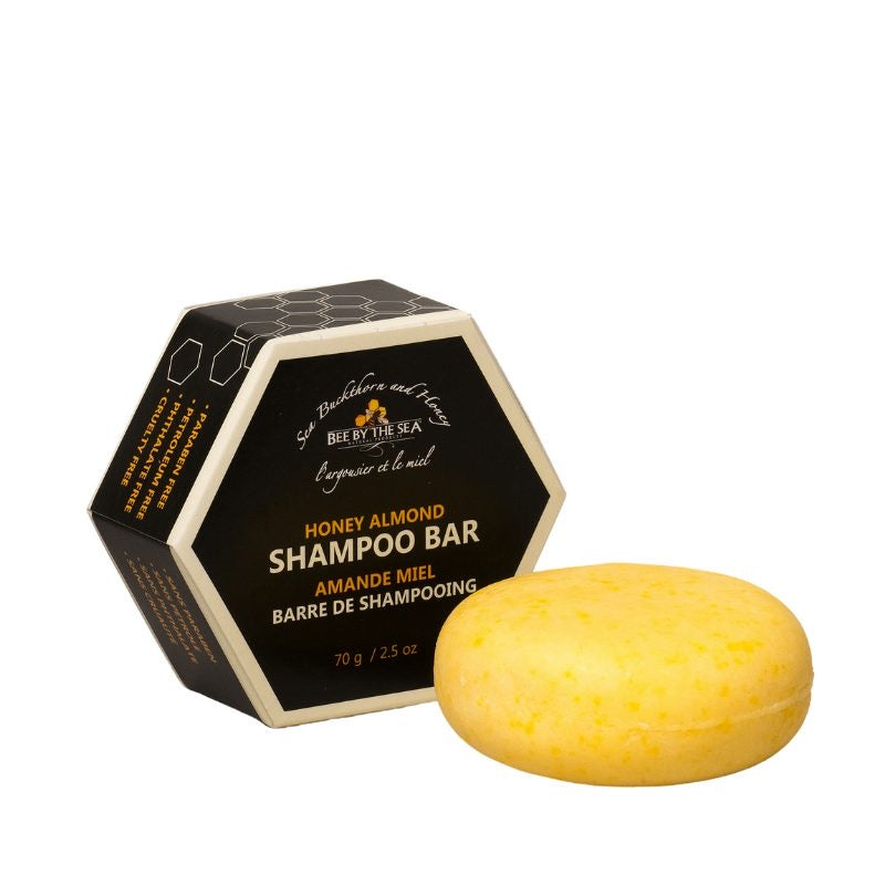 Bee By The Sea Eco Shampoo Bar - Honey Almond