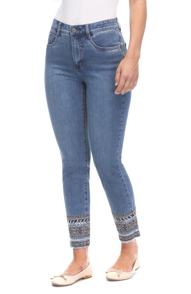 FDJ #6921779 Ankle Jean - Antique Indigo