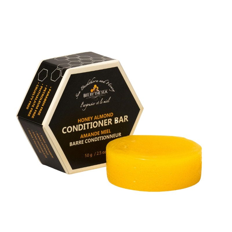 Bee By The Sea Eco Conditioner Bar - Honey Almond