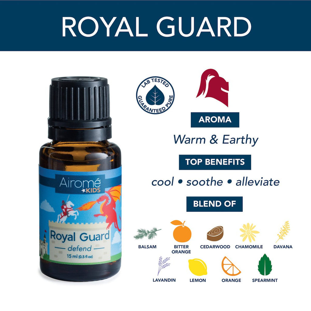 Airomé Essential Oil Blend For Kids - Royal Guard