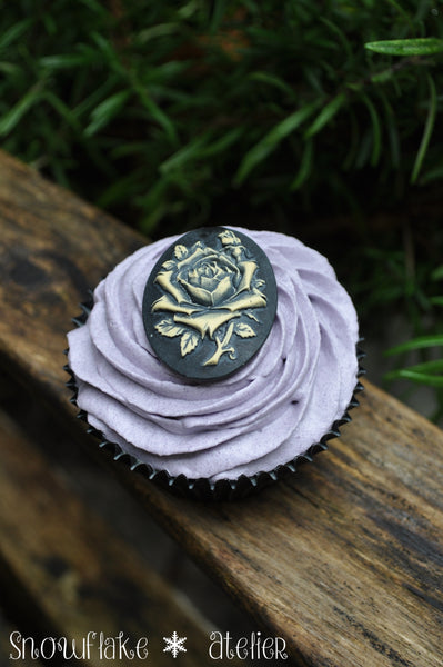 Badecupcake Black Rose
