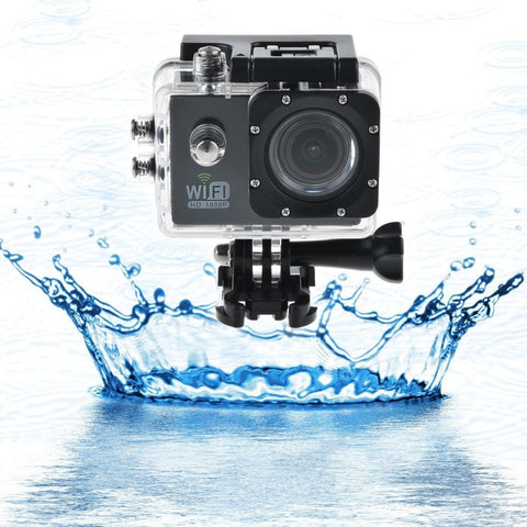 "Lots of Ablegrid® AG6000 WIFI 12MP 2.0"" LCD HD 1080P 170 Degree Wide Angle Sport Action Camera Waterproof  Novatek 96655"