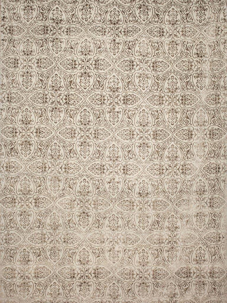 Damask 9X12 Wool/Silk
