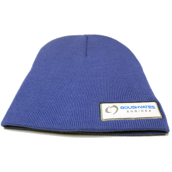 BLUE ROUSH YATES ENGINES TOBOGGAN HAT