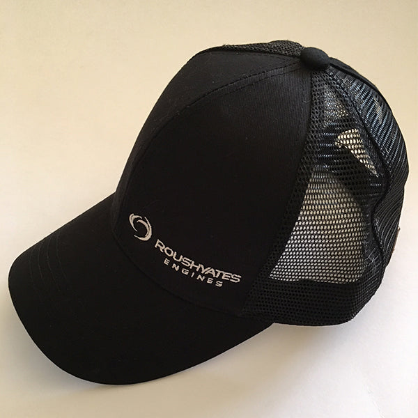 Roush Yates Engines Ponytail Hat - Black & Silver