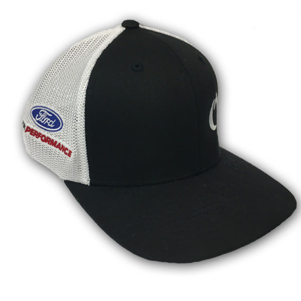 ROUSH YATES ENGINES MESH HAT - WHITE