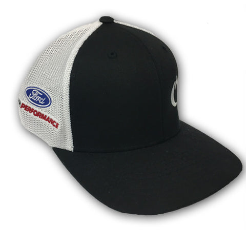 ROUSH YATES ENGINES WHITE MESH HAT