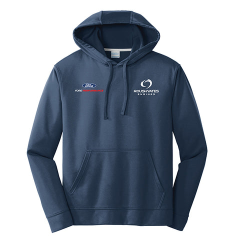 PERFORMANCE FLEECE HOODIE - DEEP NAVY