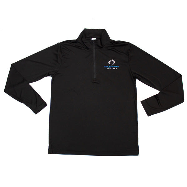 LADIES RACE DAY 1/4-ZIP - BLACK