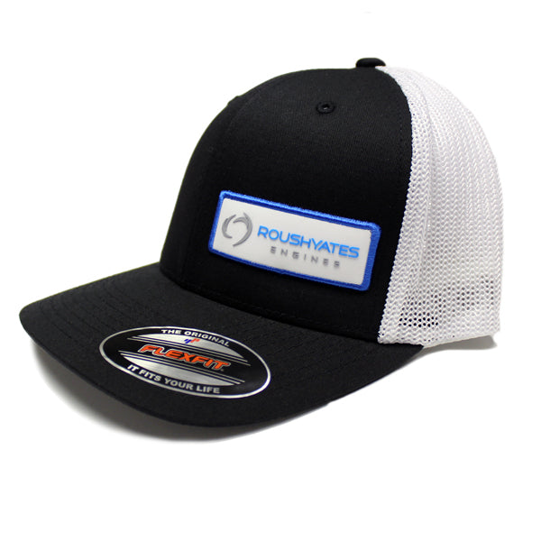 TRACK SIDE HAT - WHITE BADGE