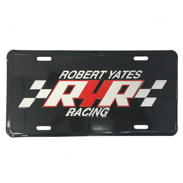 ROBERT YATES RACING LICENSE PLATE