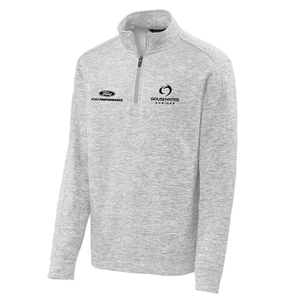 Roush Yates Engines 1/4-Zip Pullover- Silver