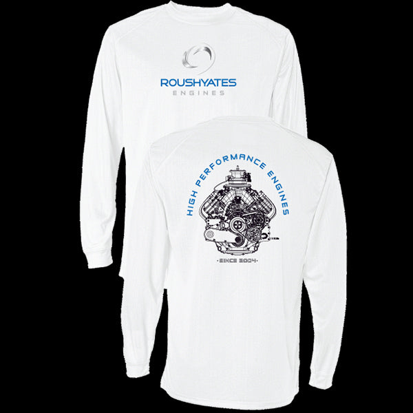 ROUSH YATES ENGINES LONG SLEEVE PERFORMANCE T-SHIRT