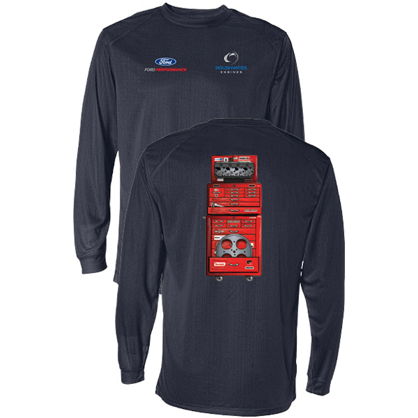 VINTAGE TOOLBOX LONG SLEEVE PERFORMANCE T-SHIRT