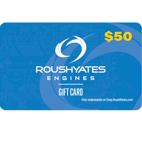 Roush Yates Engines eGift Card - $50