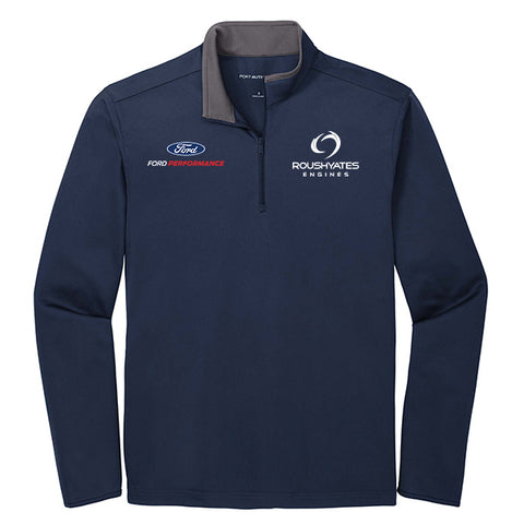 PERFORMANCE QUARTER ZIP - NAVY
