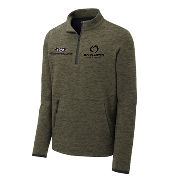 Roush Yates Engines Triumph 1/4-Zip - Military Green