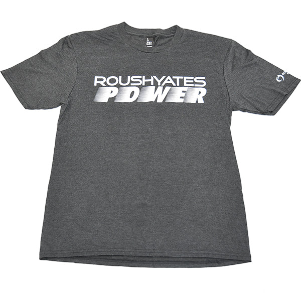 ROUSH YATES POWER T-SHIRT - BLACK FROST