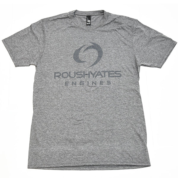 VINTAGE GREY ROUSH YATES ENGINES GRAPHIC T-SHIRT, GREY FROST