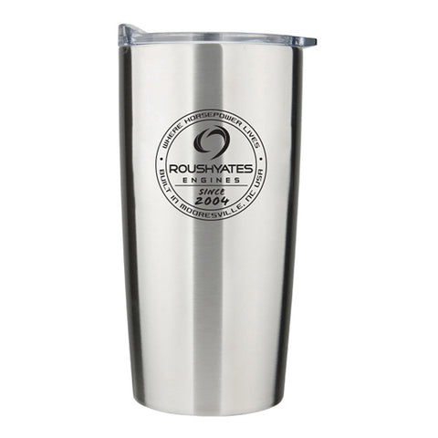 20 oz. WHERE HORSEPOWER LIVES INSULATED TUMBLER, SILVER
