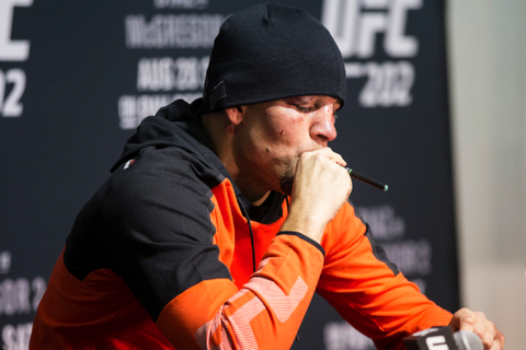 Celebrities Who Vape Openly - The Oozelife Blog - Ooze Vaping Vaporizer Pen Nate Diaz