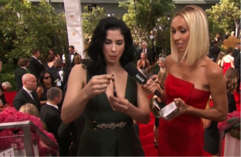 Celebrities Who Vape Openly - The Oozelife Blog - Ooze Vaping Vaporizer Pen Sarah Silverman