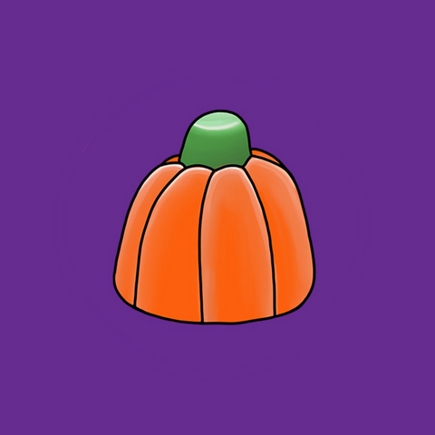 Candy Pumpkins Halloween Candy Illustration by Jenna Stanley