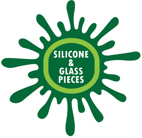 Silicone & Glass Pieces