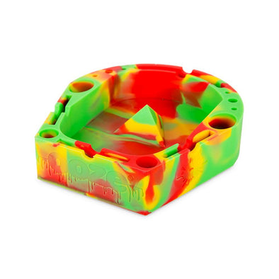 Banger Silicone Ashtray - RED / YELLOW / GREEN
