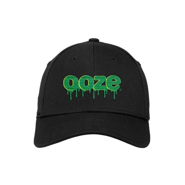 Ooze Logo Hat - Fitted - Black
