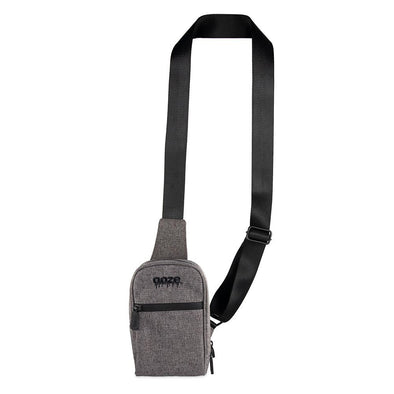 Ooze Traveler Smell Proof Crossbody - Smoke Gray