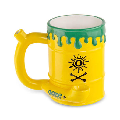 Ooze Ceramic Mug - Toxic Waste Barrel