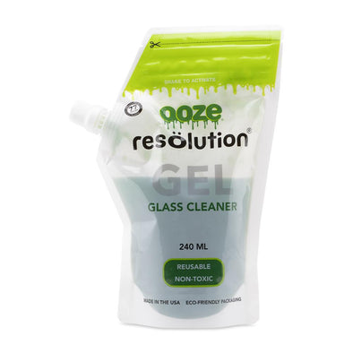 Ooze Resolution Gel Glass Cleaner - 240ml - Green