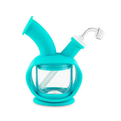 Kettle Silicone Bubbler - Teal