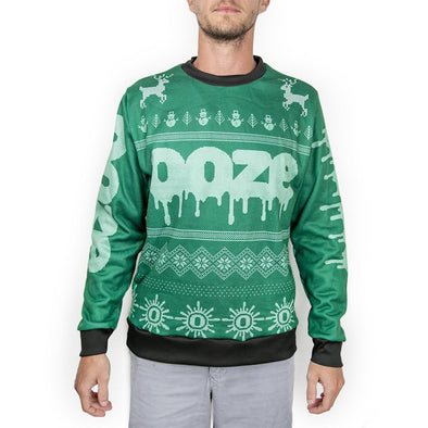 Ooze Holiday Sweater S / Green