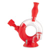 Ozone Silicone Water Pipe & Nectar Collector - Scarlet
