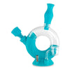 Ozone Silicone Water Pipe & Nectar Collector - Aqua Teal