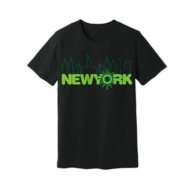 Ooze New York Skyline Mens T- Shirt T-Shirts