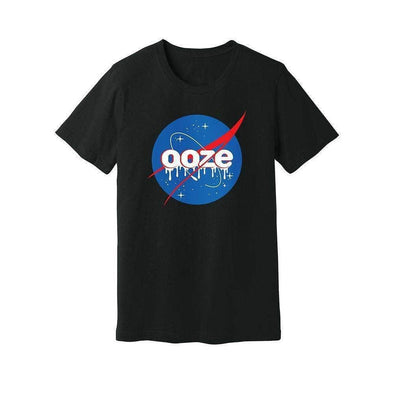 Ooze Space Mens T- Shirt Small / Blue T-Shirts