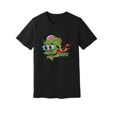 Ooze Surfer Mens T- Shirt Small / Black T-Shirts