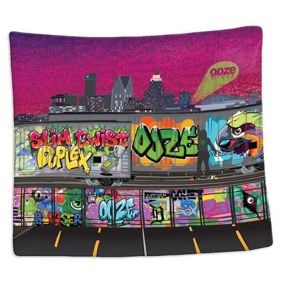 Ooze Tag Silk Touch Blanket