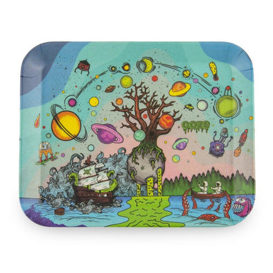 Ooze Rolling Tray - Biodegradable Tree Of Life Small Trays