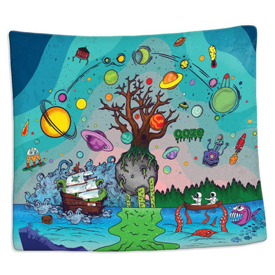 Ooze Tree of Life Silk Touch Blanket