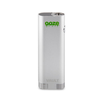Ooze Vault Extract Battery with Storage Chamber - Stellar Silver
