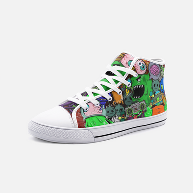 Ooze Monstrosity High Top Sneakers