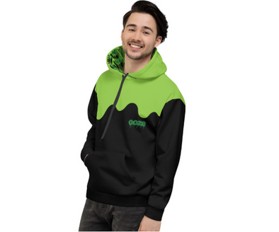 Oozing All Over Unisex Hoodie